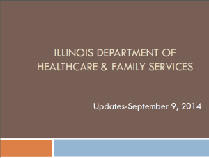 IFLOSS presentation 9-9-14 School and MCO updates to share